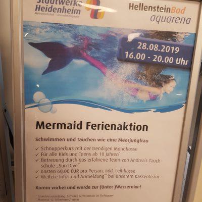 """""""Mermaid Ferienaktion"""" Aquarena"""